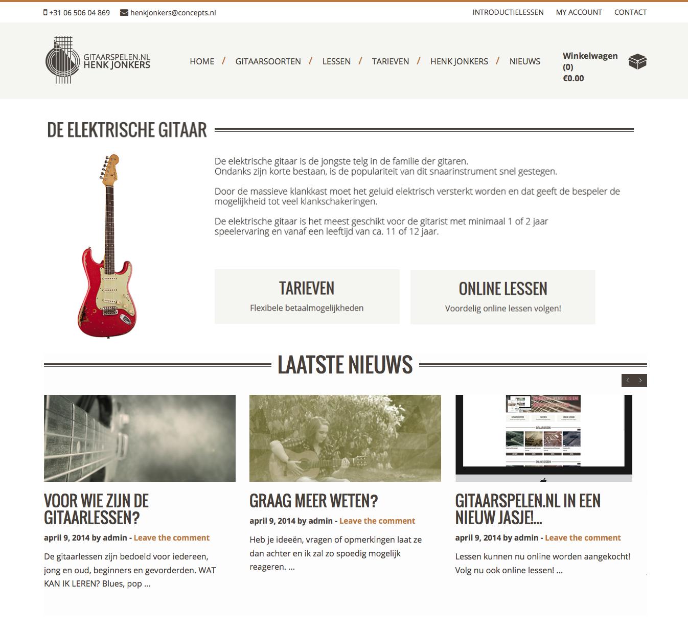 Webshop – Gitaarspelen.nl